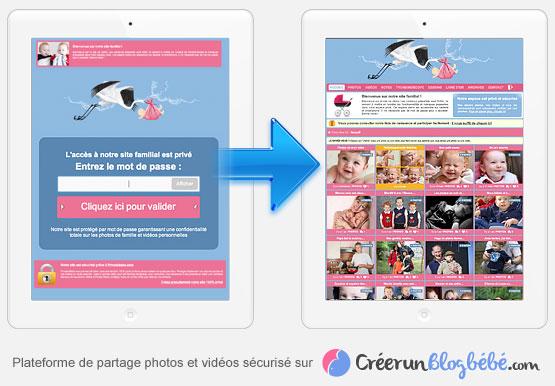Partagez vos albums photos et vidéos en toute sécurité, cliquez ici pour en savoir plus