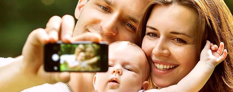 Pour partager les photos de son bébé en toute sécurité