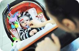 Donnez des nouvelles et partagez l'évolution de bébé