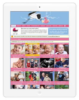 Sur ordi, tablette ou mobile, partagez vos photos/vidéos de bébé en toute sécurité