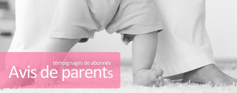 Avis de parents : les témoignages des abonnés