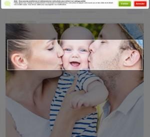 On peut personnaliser son thème graphique avec ses propres photos